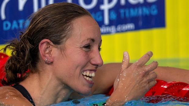 Jessica Vall, plata en la final de los 200 braza