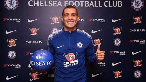 Mateo Kovacic tras firmar su año de cesión con el Chelsea