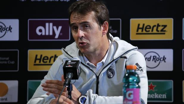 Lopetegui: «Bale entrena con la ilusión de un juvenil»