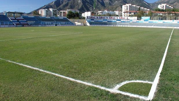Estadio del Marbella, uno de los clubes de Segunda B que juega esta temporada la Copa del Rey