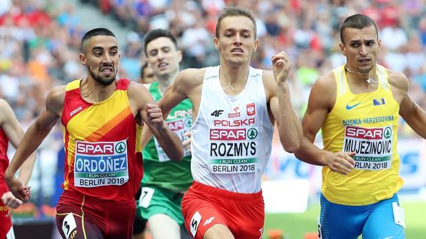 Saúl Ordóñez fue una de las decepciones al quedarse fuera de la final de 800 metros
