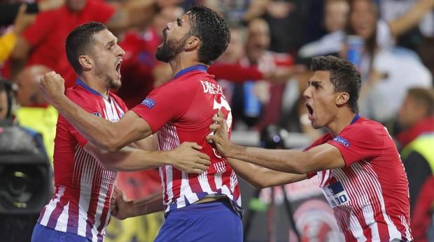 Supercopa de Europa  Así ha sido el gol de Diego Costa 604909bc52f51