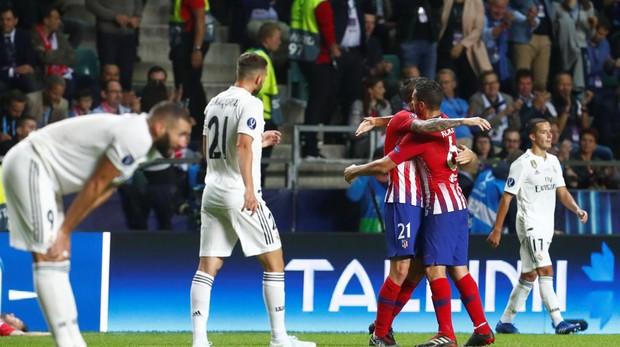 Resultado de imagen de derrota real madrid lopetegui supercopa