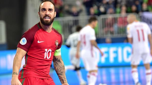 Ricardinho, jugador portugués del Inter Movistar