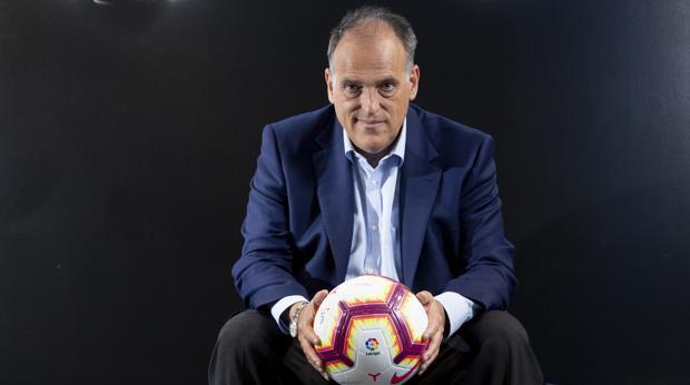 Javier Tebas: «No podemos competir con clubes como el PSG o el Inter que hacen trampas»