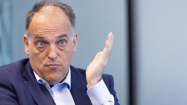 Javier Tebas: «Sigo pensando que debe haber elecciones en España»