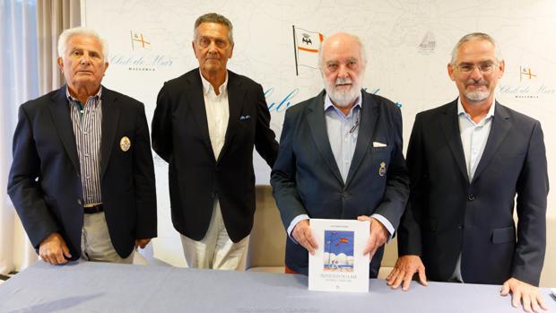 Manuel Nadal, Fernando Schwartz, Luis Tourón y Leonardo García Vicentis