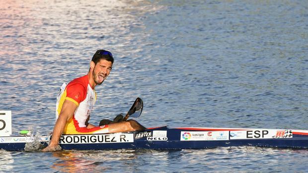 Roi Rodríguez, tras una de las series del pasado Europeo