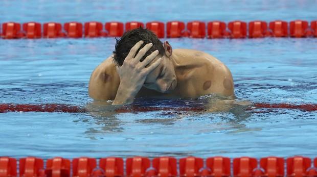 Michael Phelps durante los Juegos Olímpicos de Río 2016