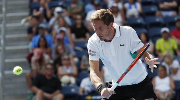 El tenista francés Nicolas Mahut, durante el US Open