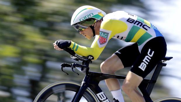 Rohan Dennis, vencedor de la etapa