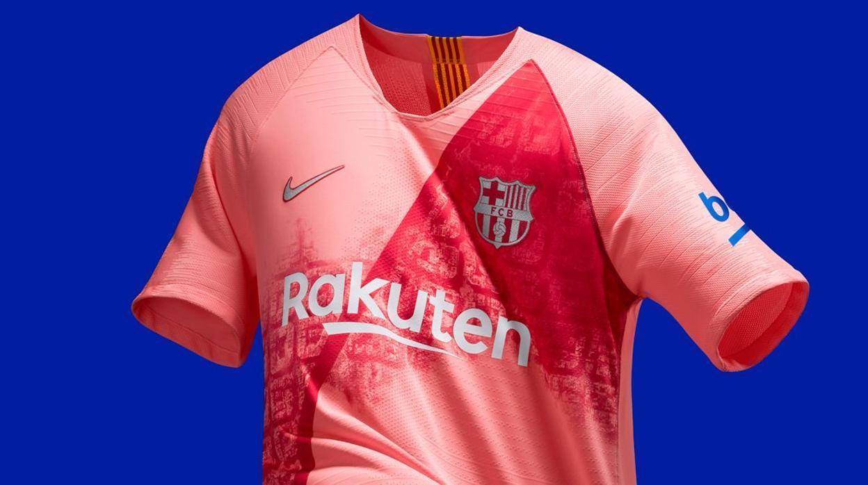 61595681b5a4c FC Barcelona  La polémica tercera equipación del Barcelona