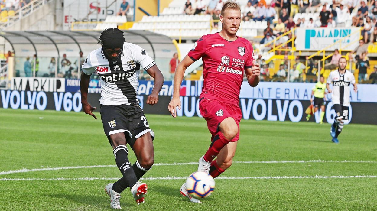 El espectacular gol de Gervinho en el Parma - Cagliari