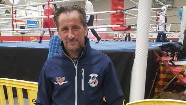 El árbitro español de artes marciales mixtas Jesús Arjona