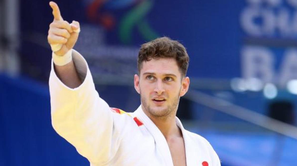 Nikoloz Sherazadishvili, el primer campeón del mundo de judo español