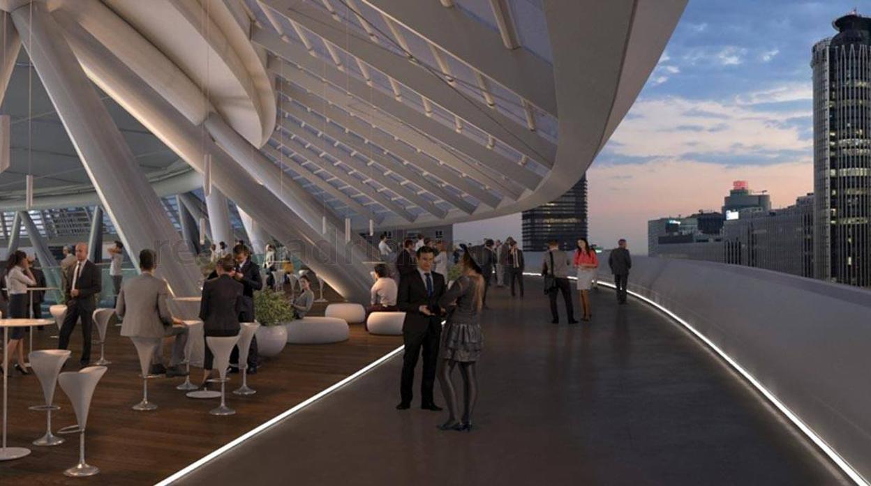 Así será el «nuevo» Santiago Bernabéu