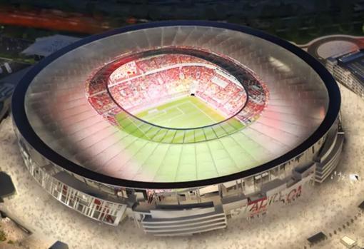 El proyecto del Stadio della Roma
