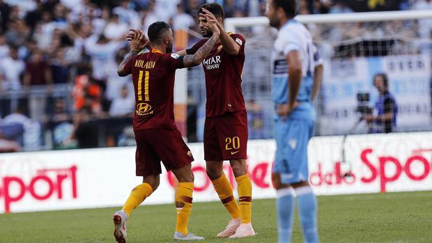 Kolarov tiñen y Fazio tiñen Kolarov de 'giallorosso' el derbi de Roma b30076