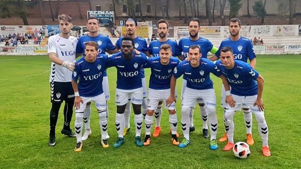 Fútbol Formación del Yugo Socuéllamos 104325a5202f5