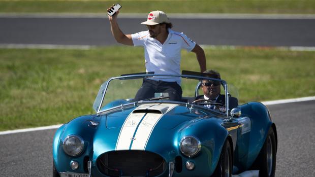 Alonso, tras el Gran Premio