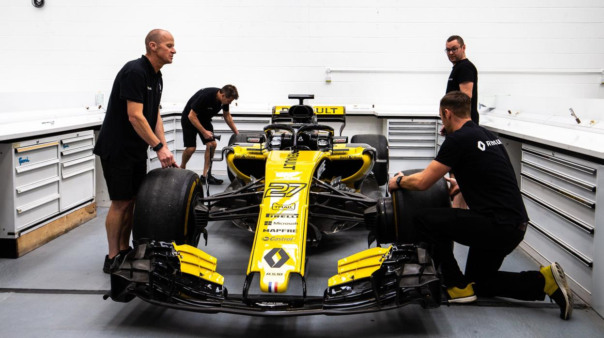 Viaje al corazón de la Fórmula 1