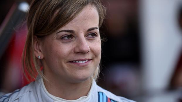 Susie Wolff, piloto de Fórmula 1