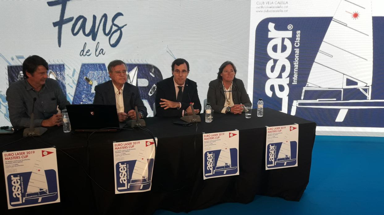 Presentado el Euro Laser Masters Cup 2019 XIII Trofeo Calella de Palafrugell - Memorial Pitus Jiménez