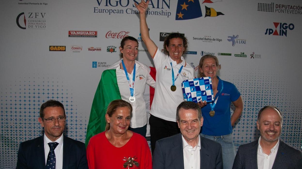 Mónica Azón campeona de Europa en Radial y Jordi Capella subcampeón en Standar