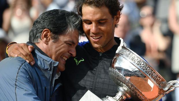 Rafa Nadal y Toni Nadal