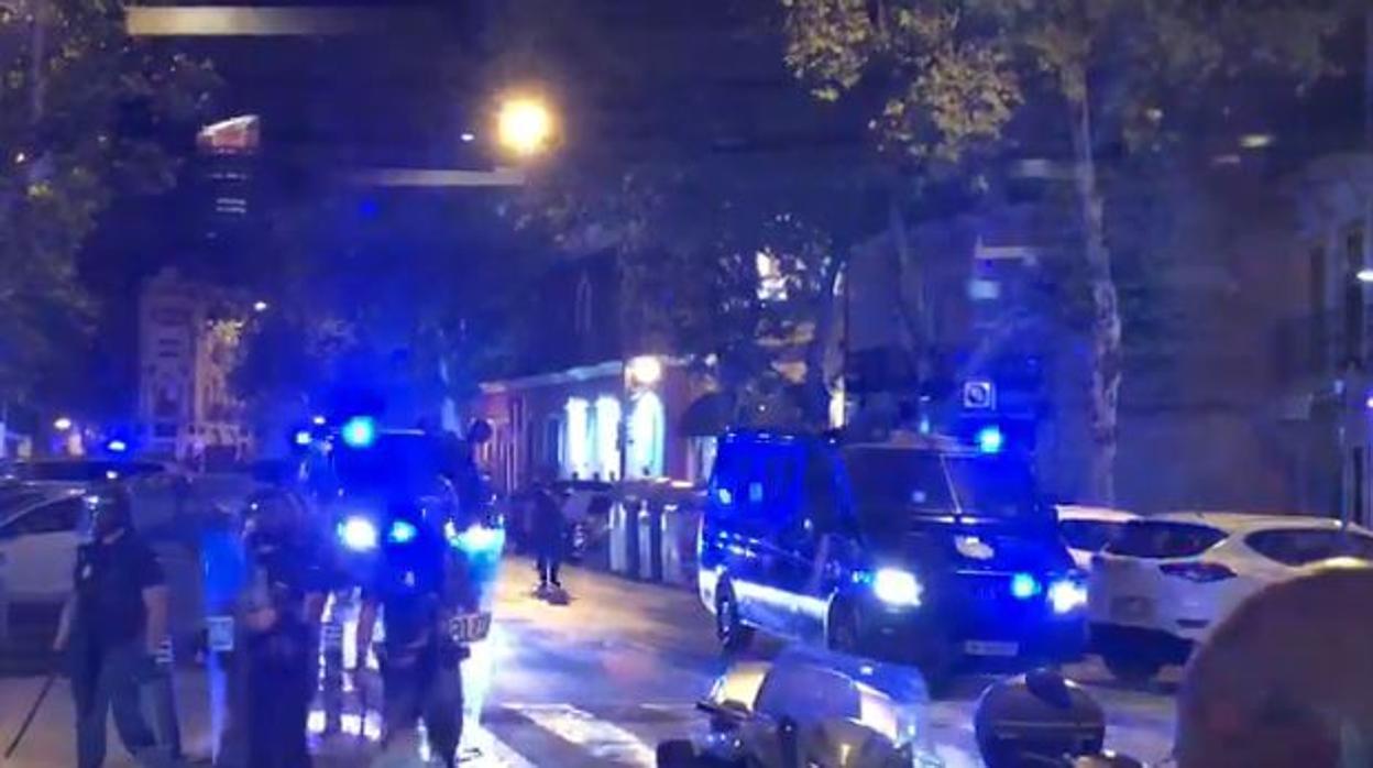 Incidentes con los hooligans ingleses en Sevilla