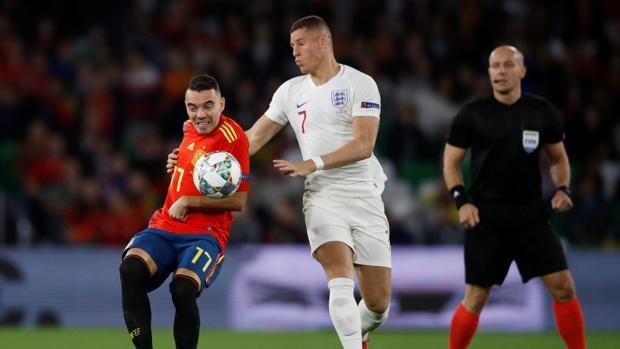 España - Inglaterra en directo