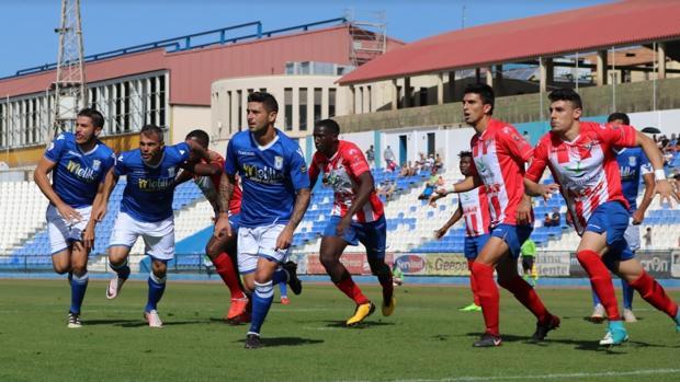 El Melilla, uno de los equipos de Segunda B que sigue vivo en la Copa del Rey