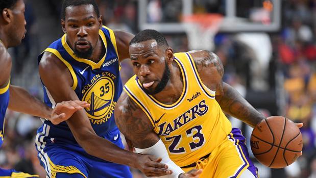 Comienza la NBA: LeBron desafía a los Warriors