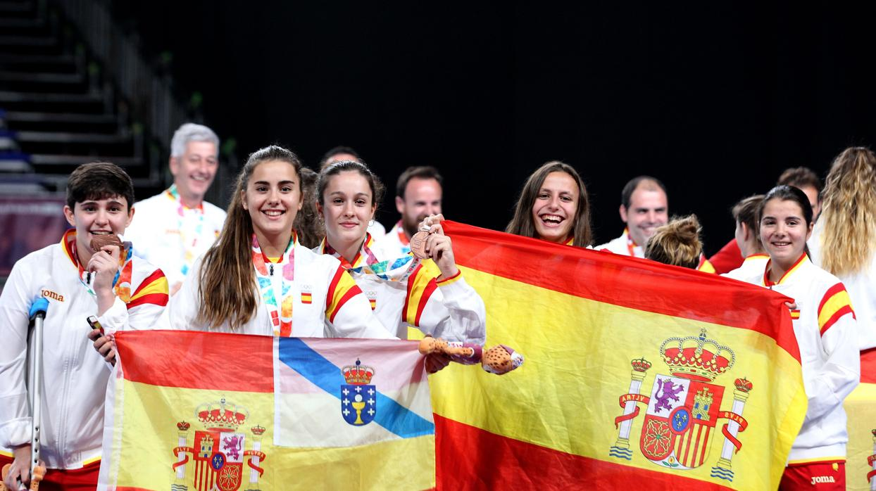 El fútbol sala femenino se cuelga el bronce en Buenos Aires 2018