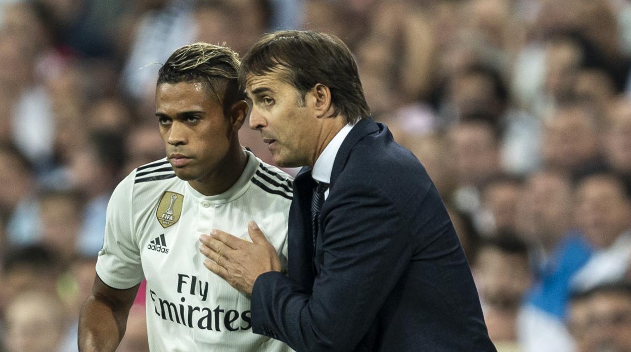 Mariano pide su primer partido como titular