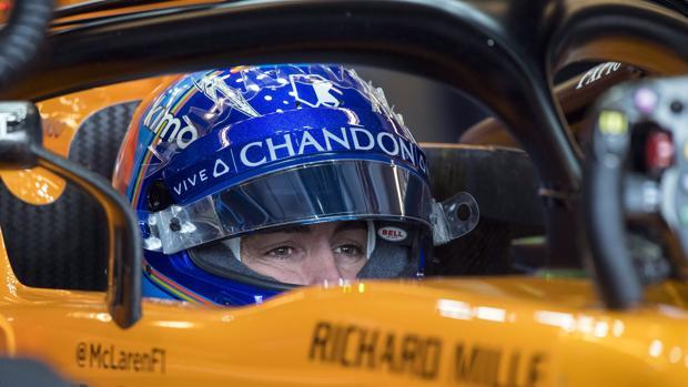 El piloto español Fernando Alonso encadena cuatro carreras sin puntuar