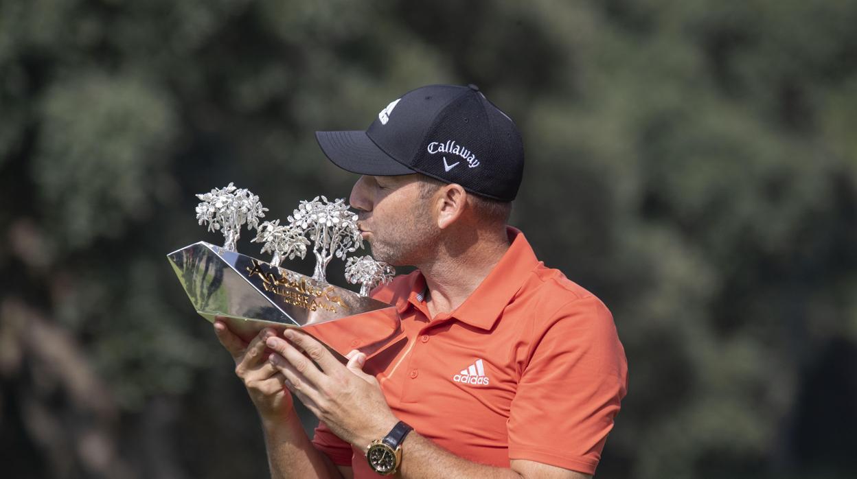 Sergio García logra su tercer título en Valderrama