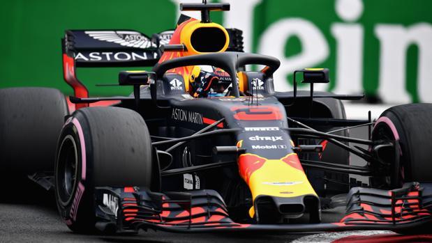 Daniel Ricciardo, al volante del Red Bull