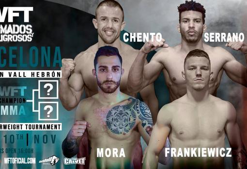 Los cuatro luchadores que buscan un contrato con Bellator