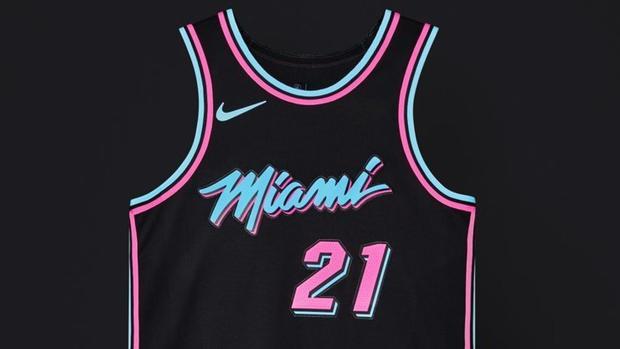 NBALocura por las ediciones  City  de las camisetas diseñadas por los  equipos e80abbc930d54
