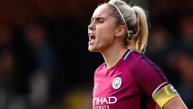 Una jugadora del Manchester City