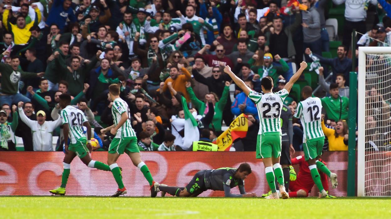Resultado Betis-Real Sociedad  Júnior revitaliza al Betis 80c8d1005d324
