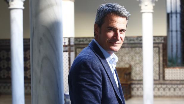 Galo Blanco, en su visita a la sede de ABC