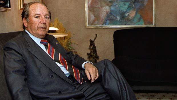 Muere Josep Lluís Núñez, expresidente del Barcelona