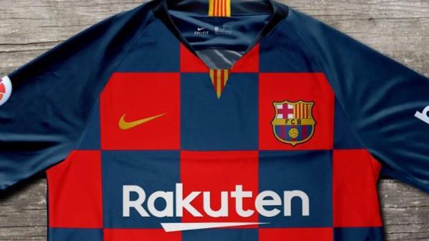 Así sería el rompedor diseño de la nueva camiseta «ajedrezada» del ... 97369c772d2
