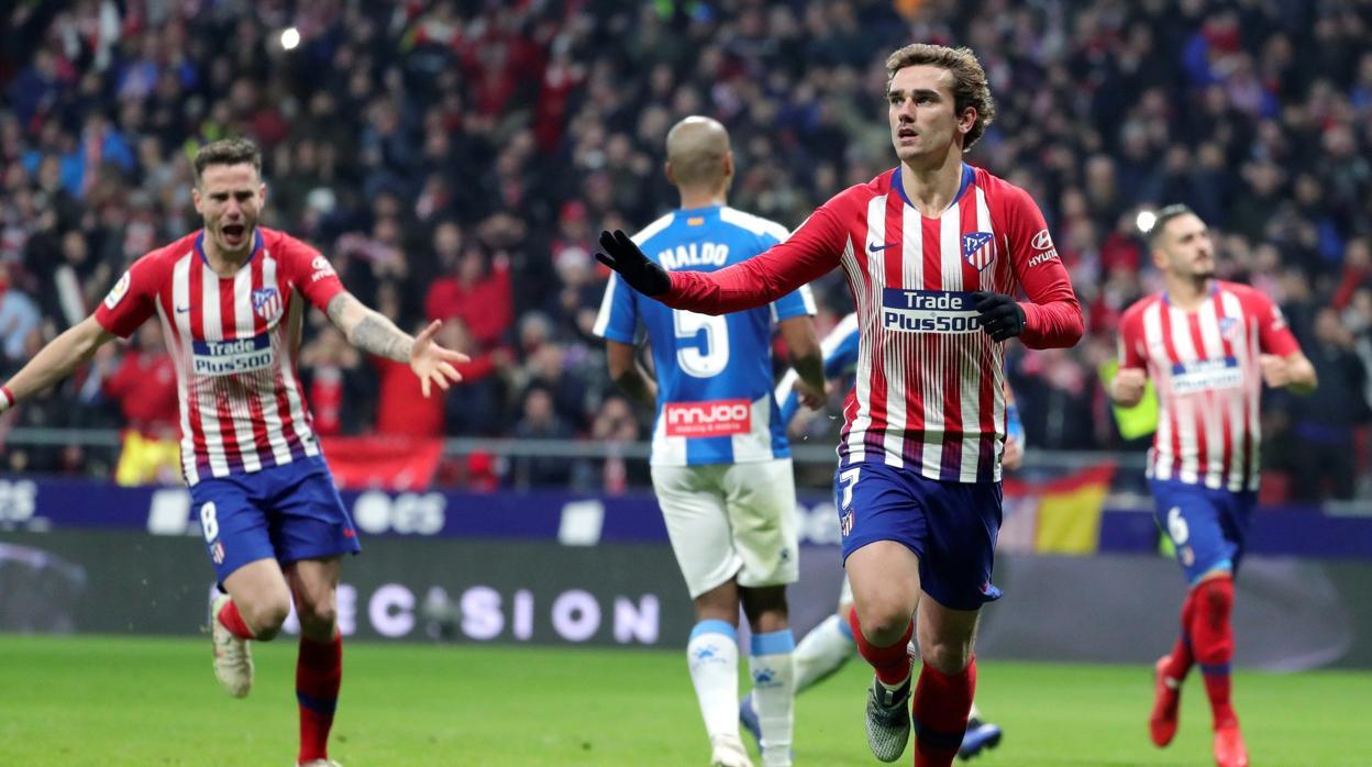 Resultado Atlético-Espanyol  Griezmann y Oblak dan otra victoria mínima al  Atlético 42e95303040cf