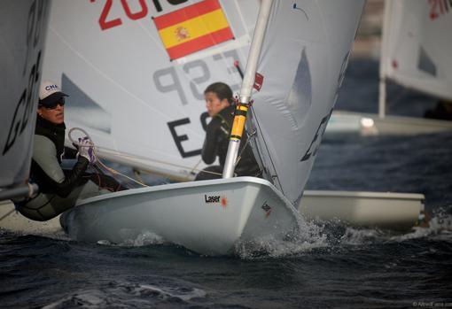 Fátima Reyes es la mejor española en Laser Radial Femenino
