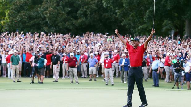 El año en el que Tiger Woods volvió a ganar