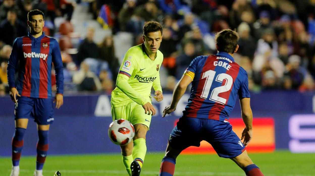 El Barcelona se cansa de Coutinho