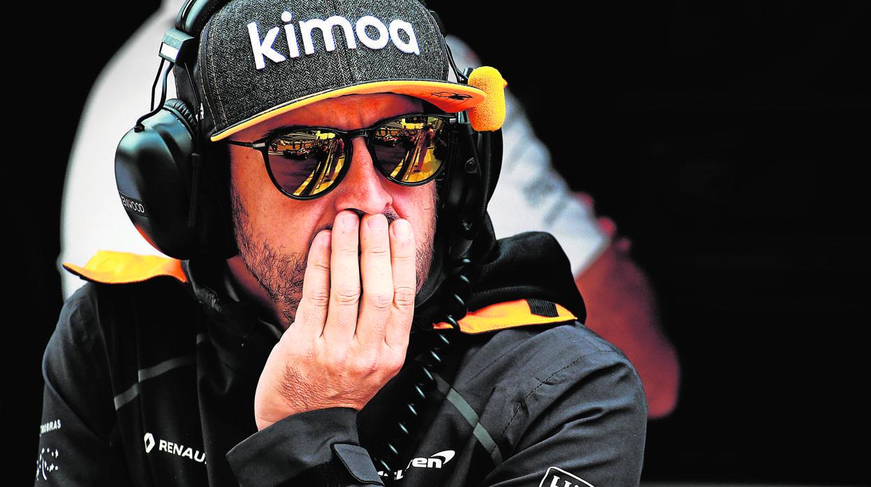 Toyota se ofrece para entrenar a Fernando Alonso de cara al Dakar